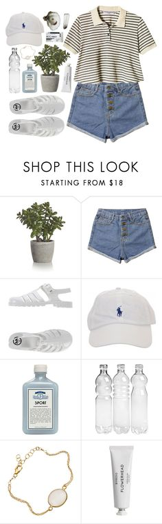 """""""NOTHING LASTS FOREVER BUT THE EARTH AND SKY"""" by little-wild ❤ liked on Polyvore featuring Crate and Barrel, JuJu, John Allan's and Byredo"""