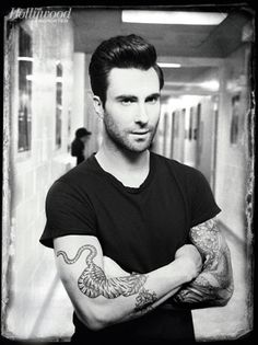The Maroon 5 frontman and face of NBCs The Voice packed a lot of profanity into his short sitdown with THR.