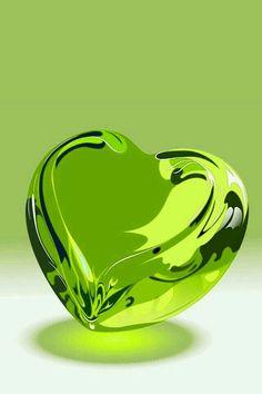 New Aesthetic Wallpaper Green Pastel 60 Ideas Heart Wallpaper, Love Wallpaper, Lime Green Wallpaper, Bubbles Wallpaper, Cellphone Wallpaper, Heart Images, I Love Heart, Heart Art, Shades Of Green
