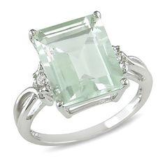 5-3/4 ct.t.w. Green Amethyst and White Topaz Ring in Silver Amour, http://www.amazon.com/dp/B0039K2TL6/ref=cm_sw_r_pi_dp_vXXmqb05N40TM