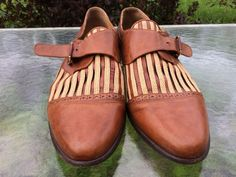 b0d7a8c6498 Romano Martegani Brown Leather shoes for Georgio Made In Italy Size 10.5  Medium  fashion