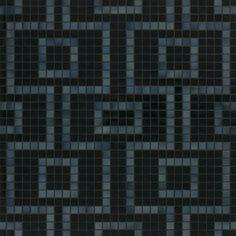 #Bisazza #Decori 2x2 cm Labirinto Nero   #Porcelain stoneware   on #bathroom39.com at 489 Euro/box   #mosaic #bathroom #kitchen