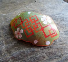 Spring geometry, brooch from my new collection