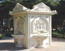 Great Patterned fountain