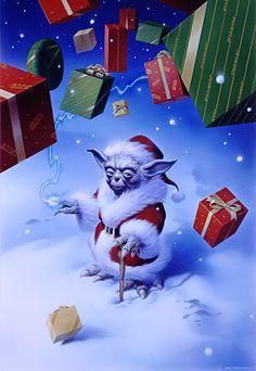 Christmas Yoda by Tsuneo Sanda