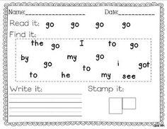Sight Word Writing Practice BUNDLE Pack - Miss Kindergarten Love - TeachersPayTeachers.com