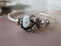 A Bangle design from a collector on Trollbeads Gallery Forum! Please join us if you love Trollbeads!