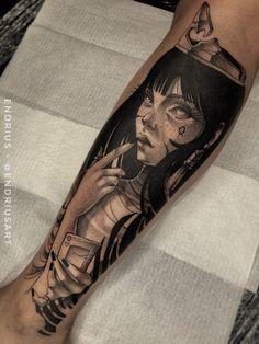 Tatuagem sketch: artistas brasileiros para você seguir! - Blog Tattoo2me Blackwork, Lotus Tattoo, Ink, Portrait, Grunge, Blog, Ideas, New Tattoos, Tattoo Ideas
