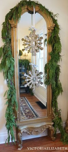 Our Victorian home decorated for Christmas… Take a holiday tour and see all my DIY Christmas decorating ideas!