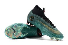 pretty nice 95838 94524 Nike Mercurial Superfly 360 CR7 Elite FG Clear Jade Futbol, Botas, Zapatos  De Fútbol