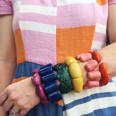 Rainbow of Bracelets