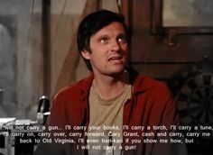 Hawkeye Pierce will not carry a gun on MASH! M*A*S*H* TV:  This is my stand point about teachers having to carry guns too!