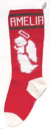 1950 knitted christmas stocking patterns - Google Search