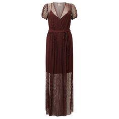 Buy Baum und Pferdgarten Albertina Wrap Dress, Decadent Choco Online at johnlewis.com