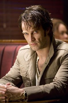 "Stephen Moyer as Bill Compton in the first season of ""True Blood"" in 2008"