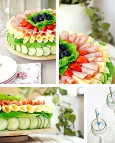 Sandwich Cake. On the website you will find a step by step video on how I decorated it.
