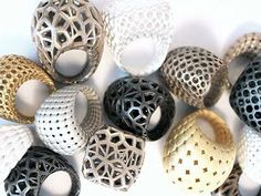 3 d printed jewelry, rings