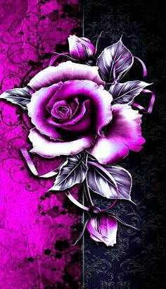 Wallpaper Iphone Love, Wallpaper Keren, Skull Wallpaper, Cellphone Wallpaper, Flower Wallpaper, Beautiful Art Pictures, Rose Pictures, Flowers Gif, Beautiful Rose Flowers