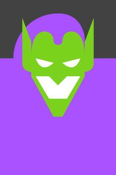 Re Vision Pop Culture Icons by Forma & Co Green Goblin Marvel comic cartoon superhero villain