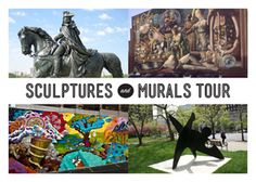 Philadelphia is the world's largest outdoor museum thanks to its vast collection of outdoor public art, sculpture and murals. Philadelphia's Mural Arts Program offers Sculptures and Murals Tour, every Saturday, May through November, 2 - 4 pm.