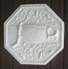 Designers makers of Norman Jewson Cotwolds Arts & Crafts Movement Plaster Owl plaque for Owlpen Manor Plaque Design, Rope Twist, Arts And Crafts Movement, Plaster, Norman, Art Decor, Owl, Birds, Holiday