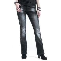 Jane - Naisten farkut - Rock Rebel by EMP - Tuotenumero: 283208 - alkaen 59,99 € • EMP.fi