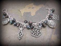 Goddess of avalon charm bracelet wiccan by SpellboundOriginalz