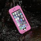 Merit™ iPhone 6 Waterproof Case Waterproof Shockproof Snowproof Dirtpoof Protection Case Cover with Fingerprint ID for iPhone 6 (Pink) Apple Iphone, Iphone 6, Fingerprint Id, Cover, Pink, Deep, Accessories, Group, Simple