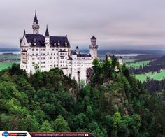 Neuschwanstein Castle, Germany  |  Neuschwanstein Castle is a nineteenth-century Romanesque Revival palace on a rugged hill above the village of Hohenschwangau near Füssen in southwest Bavaria, Germany. Neuschwanstein is one of the most popular tourist destinations in Europe.  |  Book Now: http://www.callcheapflights.uk/?utm_source=pinterest&utm_medium=social&utm_campaign=neuschwanstein-castle-germany&utm_term=germany  |   #Germany #NeuschwansteinCastle #FlightstoGermany #CallCheapFlights