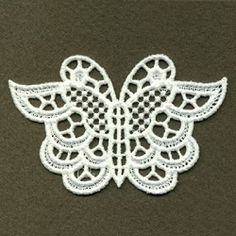 FSL Decorative Butterfly 4 - 4x4 | What's New | Machine Embroidery Designs | SWAKembroidery.com Ace Points Embroidery