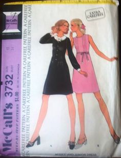 McCall's 3732 Pattern for Misses Dress Size by VictorianWardrobe, $6.00