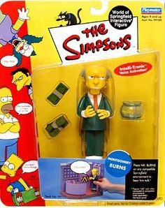Simpsons Series 1  Mr. Burns Action Figure