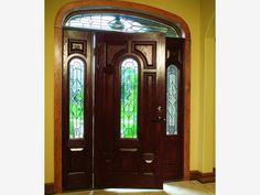 Door design for front entrance