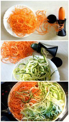 Verano® Carrot & Zucchini Spiralizer. My Favourite New Kitchen Gadget