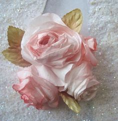 Pixie Hill: Coffee Filter Roses - How to!