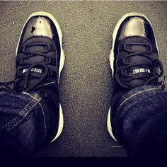 Air Jordan 11 Spacejam #jordan #sneakers ever since I was in high school I have wanted these but in black & red :(
