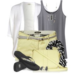 """""""Touch of Zebra for Summer"""" by brendariley-1 on Polyvore"""