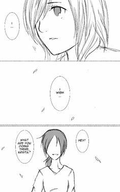 Yumikuri part 2 Ymir And Christa, One Piece Gif, Alien Girl, Aot Memes, Yuri Anime, Titans Anime, Attack On Titan Anime, Anime Ships, Haikyuu Anime