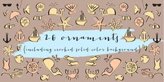 Jacques & Gilles Font by EmilyLimeDesign on Etsy, $34.00  (as seen on Jones Design Co.'s summer series)