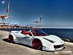 Ferrari 458 Spider by Liberty * Walk.