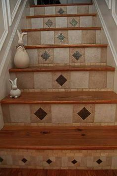 Stair tile work. I did this in one weekend.