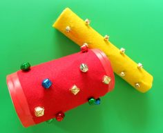 Three easy jingle bell crafts that kids can make Music Activities For Kids, Music For Kids, Christmas Activities, Christmas Fun, Library Activities, Music Crafts, Bible Crafts, Fun Crafts, Crafts For Kids