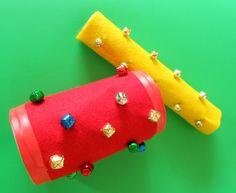 MYO Jingle Tubes - an easy and fun Christmas or holiday craft!