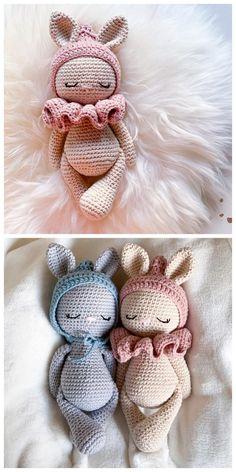 Easter Bunny Crochet Pattern, Crochet Rabbit, Crochet Amigurumi Free Patterns, Crochet Animal Patterns, Crochet Bear, Crochet Dolls, Free Crochet, Pattern Cute, Crochet Abbreviations