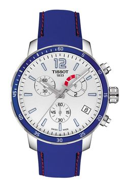 TimeZone : Industry News » N E W M o d e l - Tissot Quickster Football Chronograph