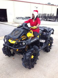 Thanks to Mary Mayfield from Quitman MS for the purchase of a 2013 Can-Am Outlander Xmr 1000. Hattiesburg Cycles appreciates your business!