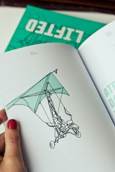 editorial - illustration / get lifted / liftoff by gen design studio , via Behance