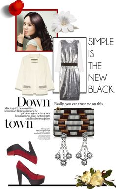 """""""Simple Is The New Black"""" by sophisty ❤ liked on Polyvore"""