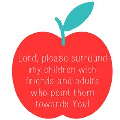 Back to school prayer!