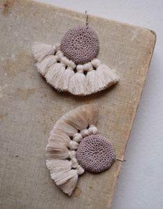 Fabulous tassel earrings from Hamimi in Marrakech